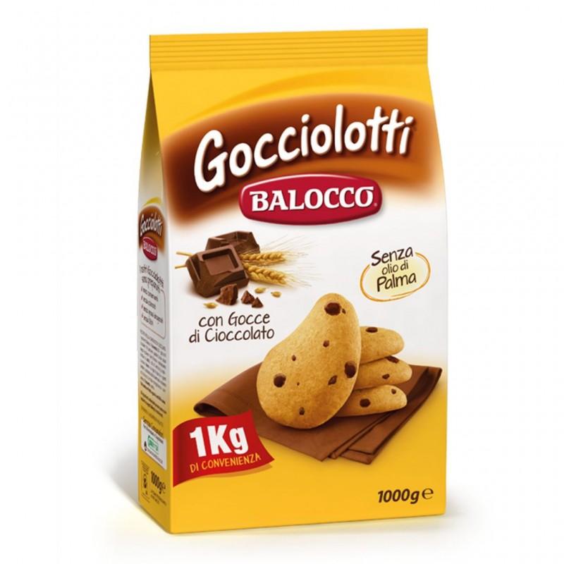 Biscotti Gocciolotti Balocco - 1000 g - Spesa Doc