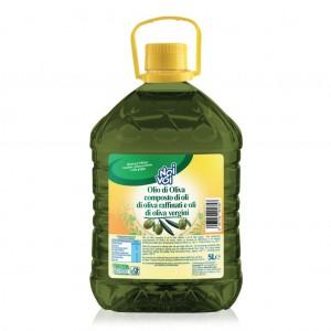 Olio Extravergine di Oliva  100% Italiano De Santis - 5 L