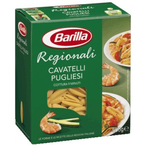 Pasta  Cavatelli  Pugliesi - confezione da 500 g