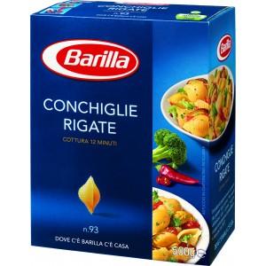 Pasta  Conchiglie  Rigate - confezione da 500 g