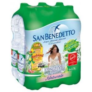 Acqua Minerale Naturale  Sant' Anna - 6 Bottiglie da  1,5 LT