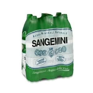 Acqua Minerale  Naturale  San Benedetto - 6 Bottiglie da  1,5 LT