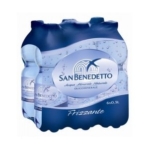 Acqua Minerale Effervescente Naturale  Ferrarelle - 6 Bottiglie da  1,5 LT