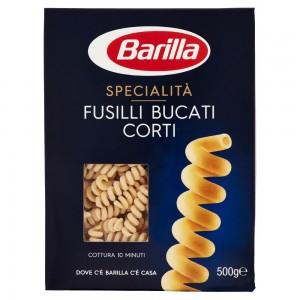 Pasta  Fusilli Bucati  Corti - confezione da 500 g