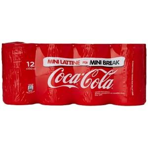 Coca Cola Mini Lattine- 12 x 150 ml