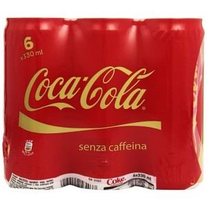 Coca Cola - 6 x 250 ml