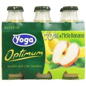 Succo  Optimum  Mela Banana  Yoga - 6 x 200 ml