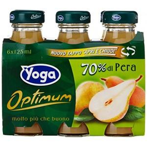 Succo  Optimum  Pera  Yoga - 6 x 125 ml