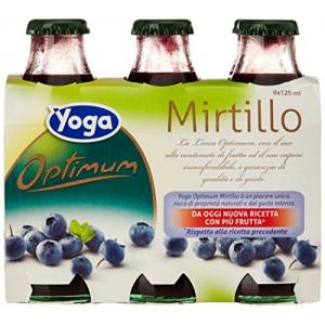 Succo  Optimum  Mirtillo  Yoga - 6 x 125 ml