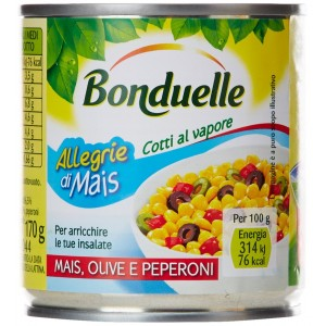 Mais Olive e Peperoni - 3 x 170 g