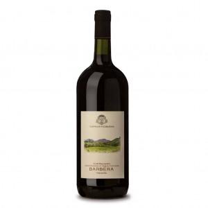 Vino Rosso Barbera DOC Colli Piacentini vivace Cantina di Vicobarone - 1500 ml