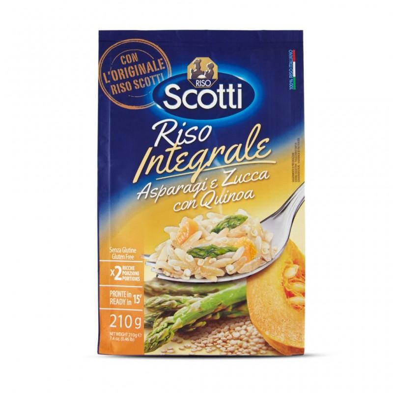 Latte riso e quinoa scotti